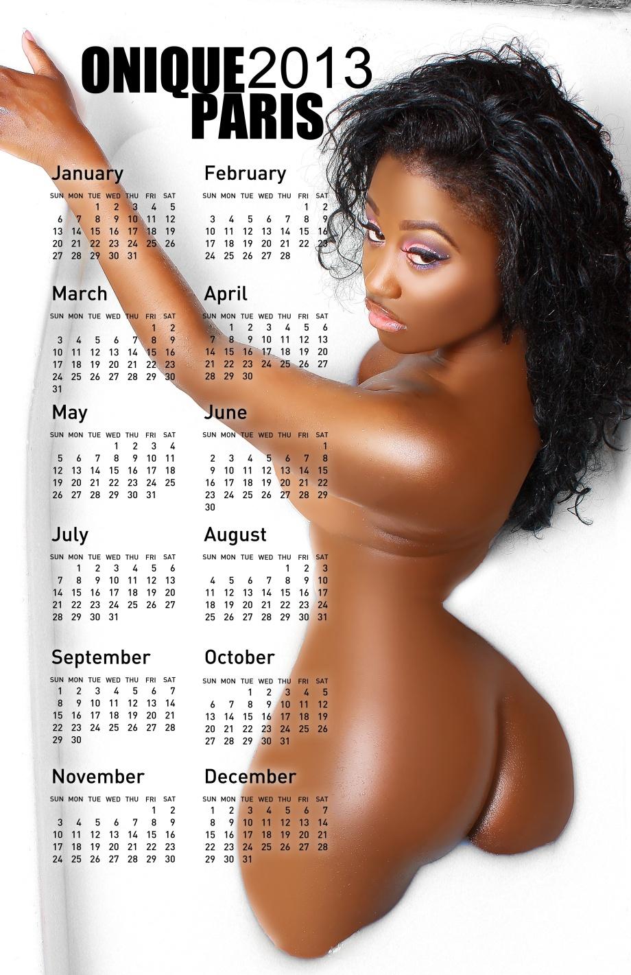 Onique Paris Calendars on Sale!